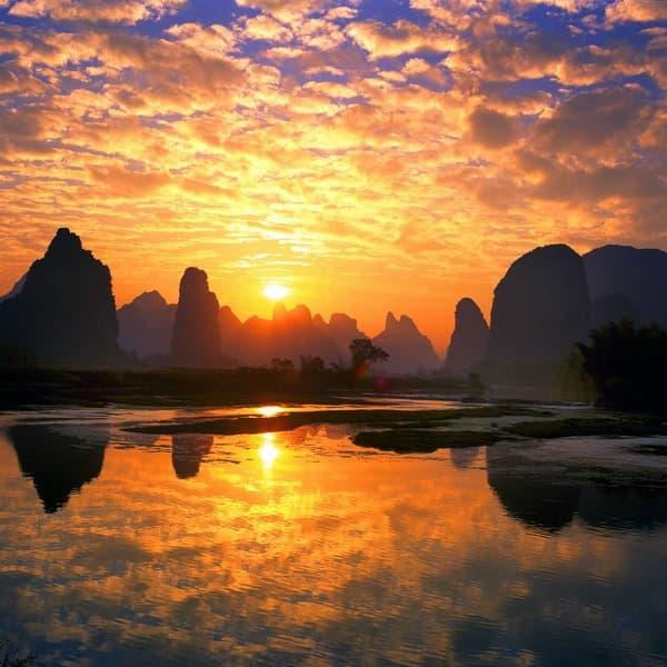 Çinden harika manzara resimleri